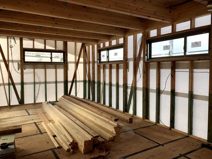 防蟻処理です。|郡山市 新築住宅 大原工務店のブログ