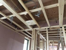 下地のチェックです。|郡山市 新築住宅 大原工務店のブログ