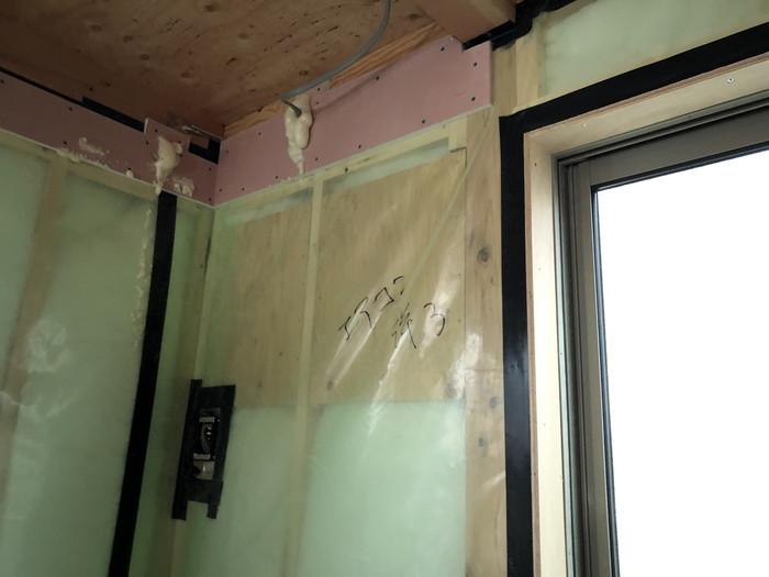エアコンの下地です。|郡山市 新築住宅 大原工務店のブログ