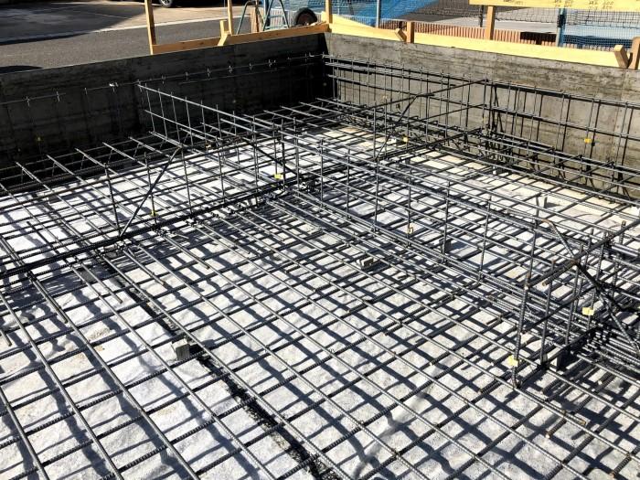 鉄筋を組んだ写真です。郡山市安積町| 郡山市 新築住宅 大原工務店のブログ