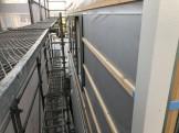外壁下地の様子です。郡山市昭和| 郡山市 新築住宅 大原工務店のブログ