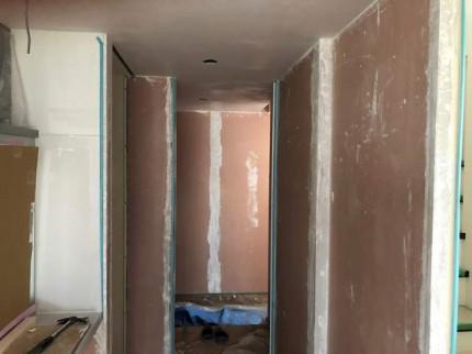 漆喰の残りの部分です。