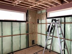 断熱防湿気密施工状況 郡山市 新築住宅 大原工務店のブログ