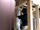 石膏ボードを施工していきます。郡山市安積町  郡山市 新築住宅 大原工務店のブログ