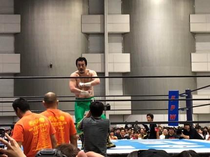 新日本プロレスの郡山公演です。