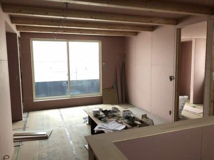大工工事進んでおります。田村郡三春町|郡山市 新築住宅 大原工務店のブログ