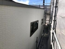 外壁、サイディングが張り終わりました。|郡山市 新築住宅 大原工務店のブログ
