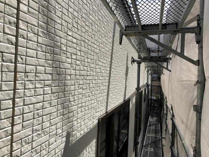 外壁がどんど貼られていきます。本宮市仁井田| 郡山市 新築住宅 大原工務店のブログ