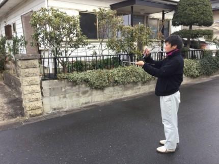 写真を撮る工務部の太田原です。郡山市喜久田| 郡山市 新築住宅 大原工務店のブログ