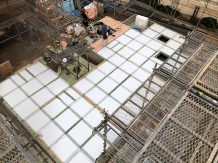 新築の土台入れです。 郡山市 新築住宅 大原工務店のブログ