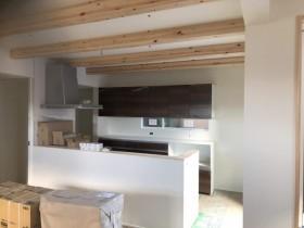 クロス工事の完成です。|郡山市 新築住宅 大原工務店のブログ