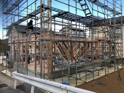 新築の上棟です。 郡山市 新築住宅 大原工務店のブログ