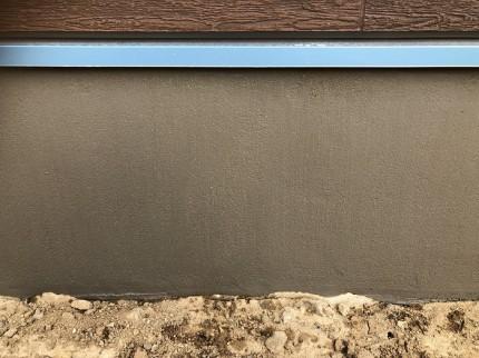 施工後の基礎です 郡山市田村町 |郡山市 新築住宅 大原工務店のブログ