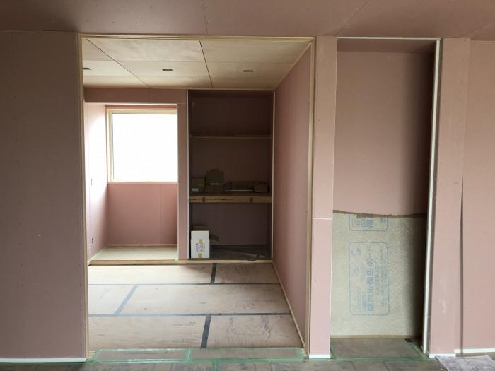 和室の仕上がりです。郡山市御前南| 郡山市 新築住宅 大原工務店のブログ