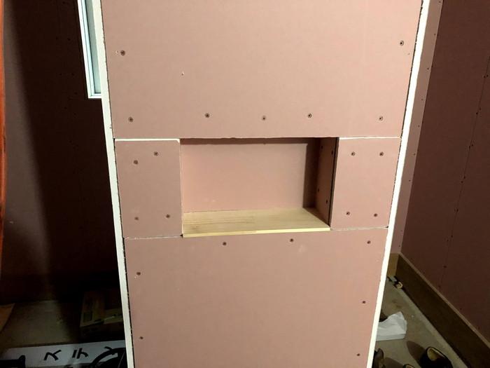 ニッチの造作です。|郡山市 新築住宅 大原工務店のブログ