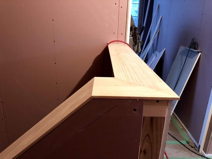 階段笠木です。|郡山市 新築住宅 大原工務店のブログ