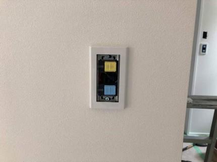 スイッチの取付です。|郡山市 新築住宅 大原工務店のブログ