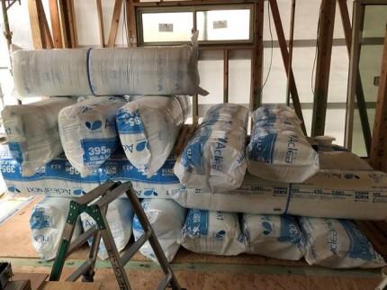 アクリアネクストの断熱材納入です。|郡山市 新築住宅 大原工務店のブログ