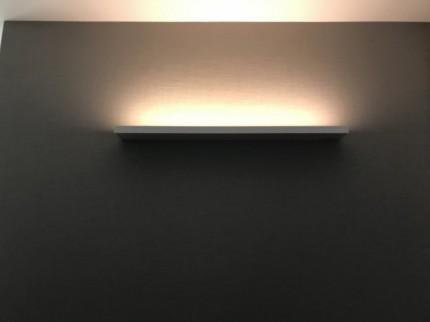 玄関、間接照明もステキです。|郡山市 新築住宅 大原工務店のブログ
