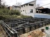 基礎の型枠が付いている状態です。郡山市富田町| 郡山市 新築住宅 大原工務店のブログ