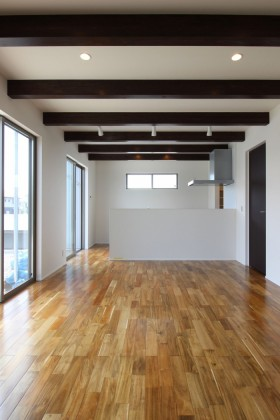大原工務店で新築注文住宅建ててくださったS様邸のリビングです。須賀川市日向町| 郡山市 新築住宅 大原工務店のブログ