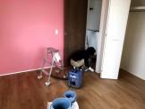 床・建具を掃除しています 郡山市日和田 |郡山市 新築住宅 大原工務店のブログ