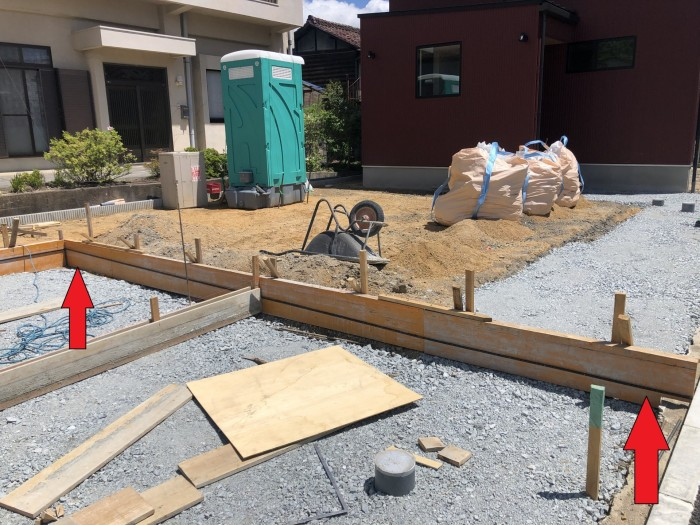 幅が違います。郡山市日和田町| 郡山市 新築住宅 大原工務店のブログ
