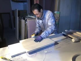 可動棚を作成しています 郡山市昭和 |郡山市 新築住宅 大原工務店のブログ