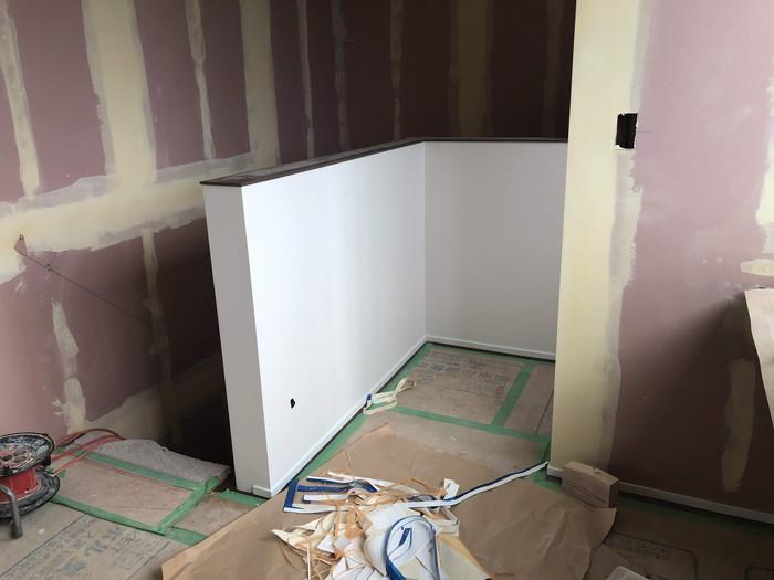 クロス工事です。|郡山市 新築住宅 大原工務店のブログ