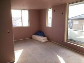 下り壁がなく、スッキリした空間です。郡山市大槻町。| 郡山市 新築住宅 大原工務店のブログ