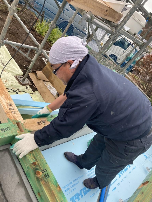 防蟻屋さんによる仕上げにて完了 郡山市 新築住宅 大原工務店のブログ