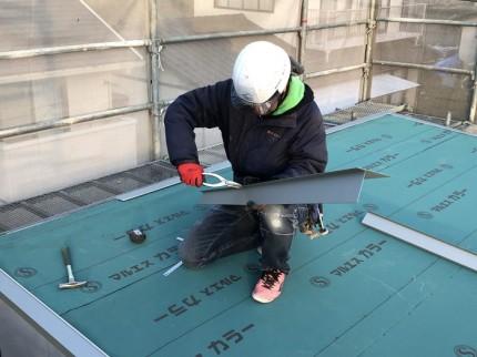唐草の加工です。|郡山市 新築住宅 大原工務店のブログ