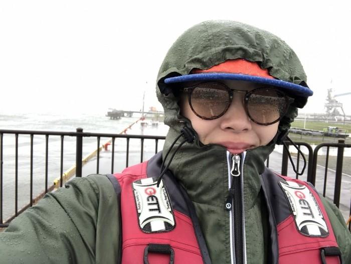 人生初海釣りは、大荒れ。相馬市| 郡山市 新築住宅 大原工務店のブログ