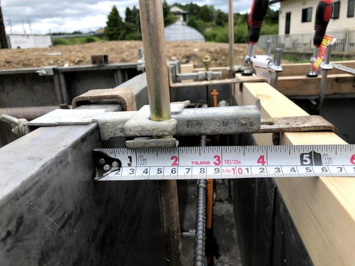 ホールダウン金物のチェックです。|郡山市 新築住宅 大原工務店のブログ