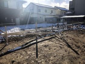 新築のべた基礎工事が始まりました。郡山市富田町| 郡山市 新築住宅 大原工務店のブログ