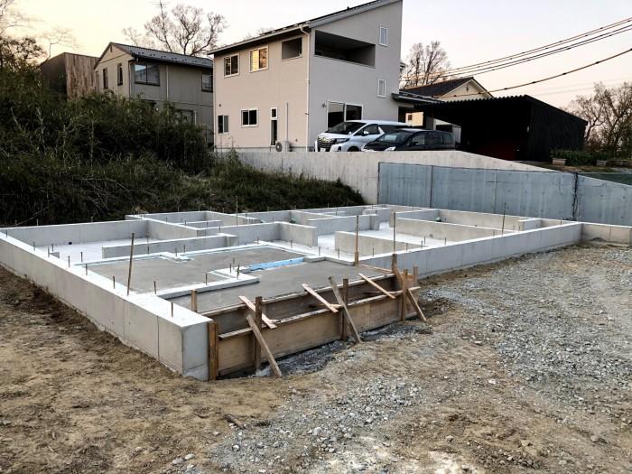基礎の型枠が取れました。郡山市富田町| 郡山市 新築住宅 大原工務店のブログ