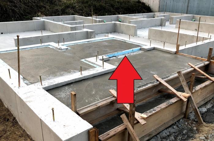 土間部分です。郡山市富田町| 郡山市 新築住宅 大原工務店のブログ