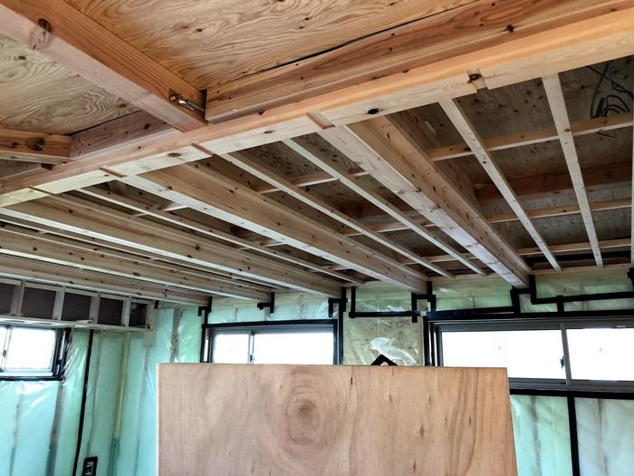 LDKの天井下地です。|郡山市 新築住宅 大原工務店のブログ