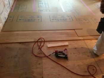 オーク床板 無垢材