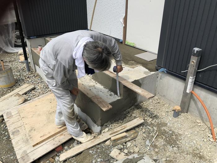 タイルの下地工事です。|郡山市 新築住宅 大原工務店のブログ