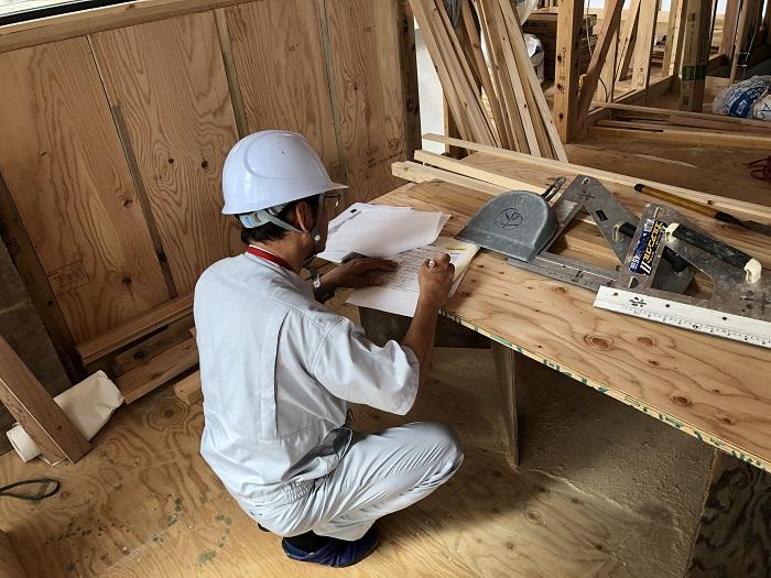 上棟検査の様子です 郡山市横塚 |郡山市 新築住宅 大原工務店のブログ