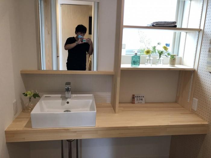 I工務店のさんの造作洗面台です。郡山市安積町| 郡山市 新築住宅 大原工務店のブログ