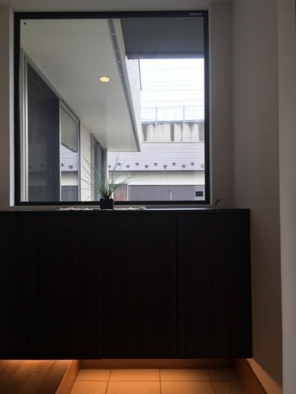 オシャレな玄関収納があります。郡山市小原田| 郡山市 新築住宅 大原工務店のブログ