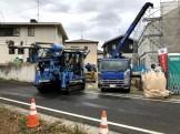 地盤改良には重機を使って行います。須賀川市森宿| 郡山市 新築住宅 大原工務店のブログ