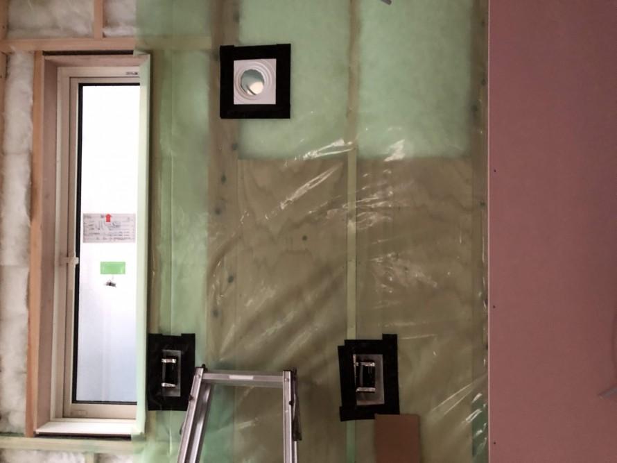 防湿シートもばっちり|郡山市 新築住宅 大原工務店のブログ