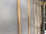 大原工務店で新築注文住宅建築中H様邸、外壁下地を施工していきます。郡山市安積町| 郡山市 新築住宅 大原工務店のブログ