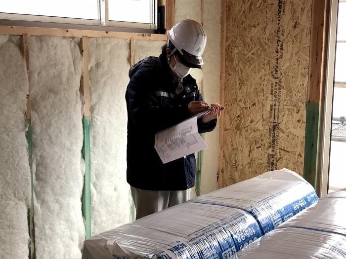 図面を見ながら質疑応答を行います。田村郡三春町| 郡山市 新築住宅 大原工務店のブログ
