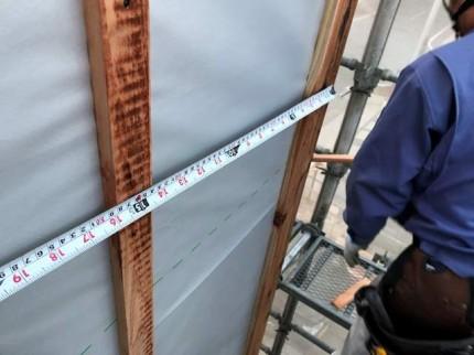 外壁の下地の間隔は大事です。|郡山市 新築住宅 大原工務店のブログ