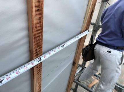 455ピッチで胴縁施工していきます。郡山市富久山町| 郡山市 新築住宅 大原工務店のブログ