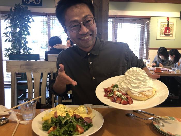 ハワイアンパンケーキです。
